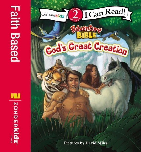 Omslag van God's Great Creation