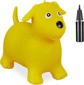 Gele skippy hond
