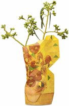 Tiny Miracles - Duurzame Design Vaas - Paper Vase Cover - Van Gogh - Sunflowers - Small
