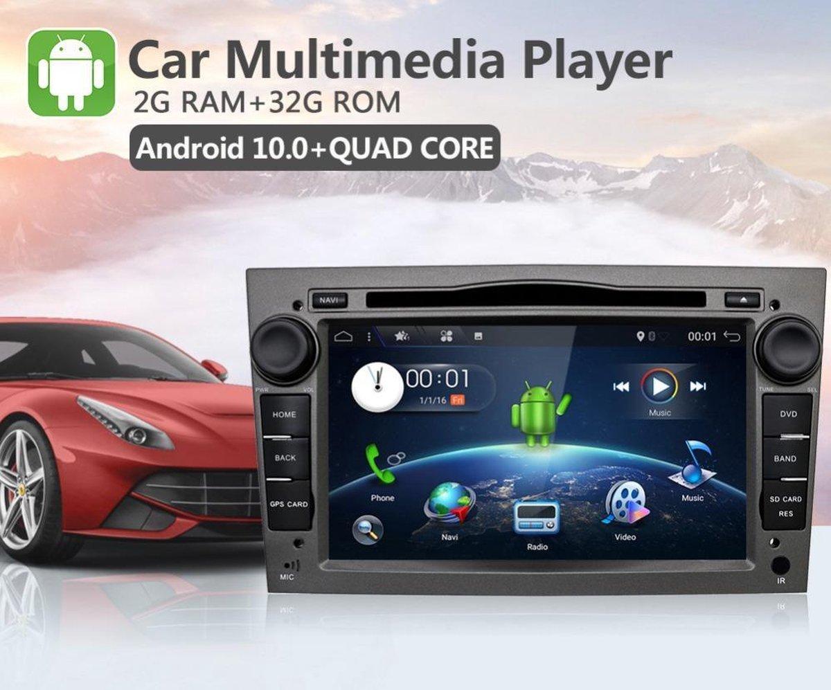 GRATIS CAMERA! Opel Android 10 navigatie grijs GRATIS CAMERA Astra Antara Corsa Combo Meriva Vivaro Zafira Signum Tigra Twintop