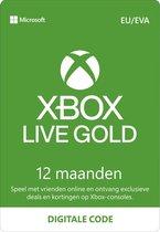 Microsoft Xbox Live Gold - 12 Maanden Abonnement - Xbox 360, Xbox One, Xbox Series X & S