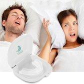 Anti Snurk Bitje Dat Werkt Tegen Snurken En Voor Een Betere Nachtrust Zorgt - Inclusief Slaapmasker En Neus Spreiders