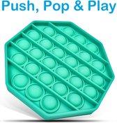 Pop It Fidget Toys - Groen - Achthoek / Octagon - TikTok