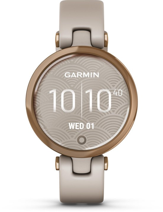 Garmin Lily - Smartwatch dames - Light Sand