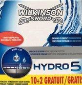 Wilkinson Sword Hydro 5 -12 stuks - Scheermesjes