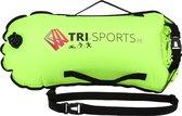 Tri-Sports zwemboei geel voor openwater zwemmen