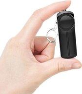 Persoonlijk alarm 130 DB - Senioren alarm - Inclusief Batterijen - LED Lamp – Noodsignaal - Veiligheidsalarm - Sleutelhanger - Zelfverdediging