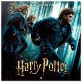Kalender Harry Potter 2021 formaat 30 x 30 cm.