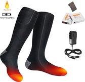 Verwarmde Sokken - Inclusief Afstandsbediening En Oplaadbare accu - One Size Fits All - Elektronische Sokken – Elektrische sokken - Verwarmde sokken met batterij – 3 warmte standen – Unisex - Bloedsomloop Verbeteren – Skiën – Wandelen - Koude Voeten