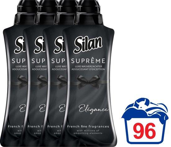 Silan Suprême Wasverzachter Elégance - Voordeelverpakking - 4 x 24 wasbeurten
