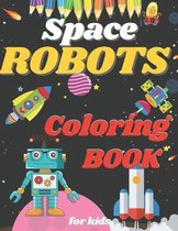Space Robot Coloring Book