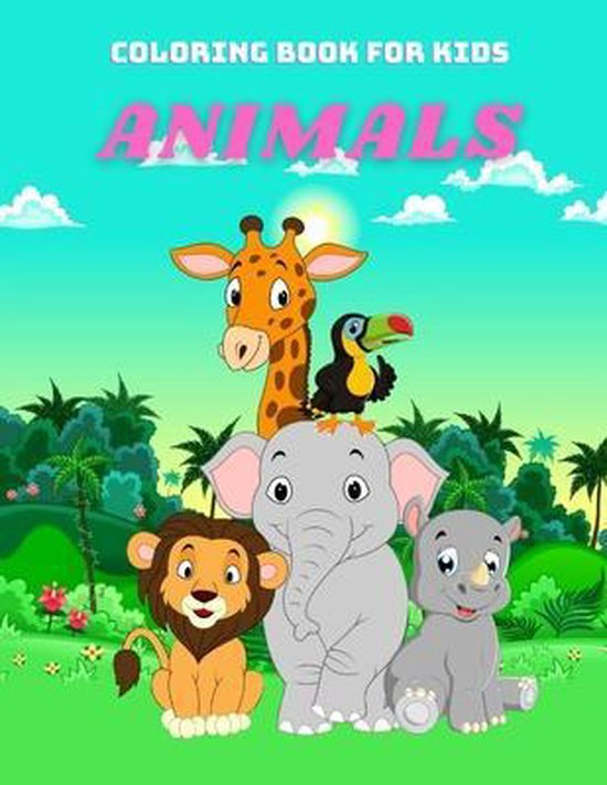ANIMALS - Coloring Book For Kids