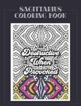 Sagittarius Coloring Book