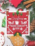 Christmas word search book