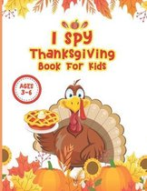 I Spy Thanksgiving Book For Kids Ages 3-6