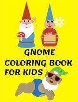 Gnome Coloring Book for Kids