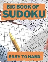 Big Book of Sudoku: Easy to Hard - 1000 Puzzles