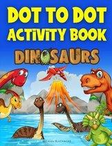 Dot To Dot Activity Book Dinosaurs