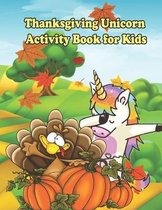 Thanksgiving Unicorn Activity Book For Kids
