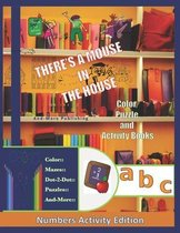 A Mouse In The House Color Puzzle and Activity Book