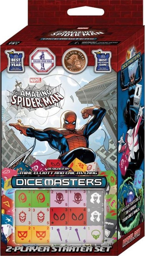 Afbeelding van het spel SPIDERMAN - Dice Masters - Starter