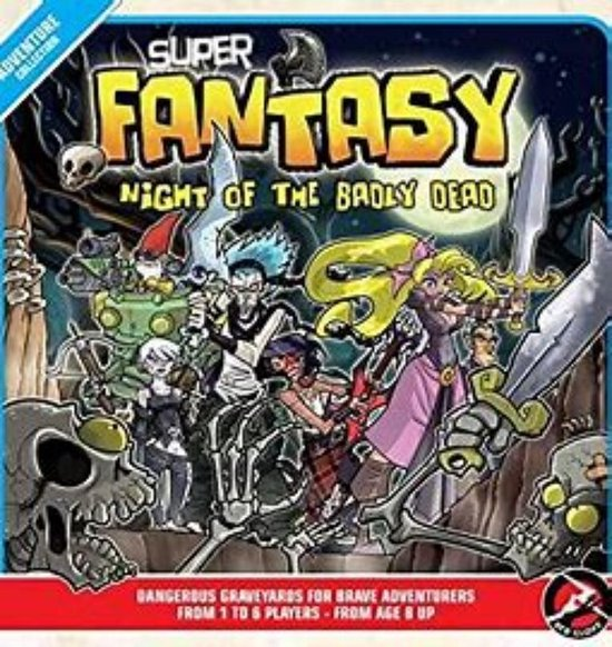 Afbeelding van het spel Super Fantasy Night of the Badly Dead