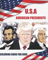 U.S.a American Presidents Coloring Book for Kids