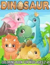 Dinosaur Coloring Book for Kids Ages 2-4