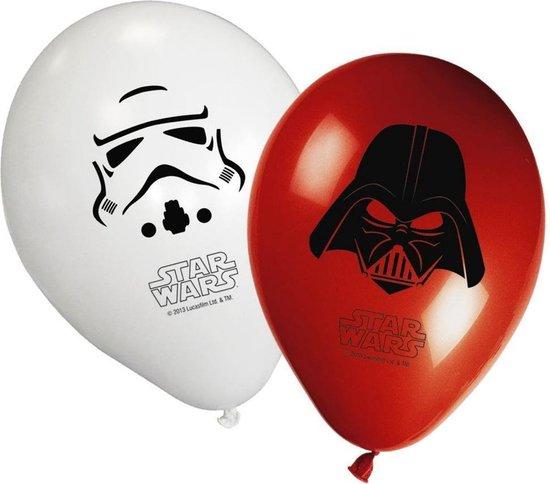 Star Wars Ballonnen 8 stuks, Verjaardag