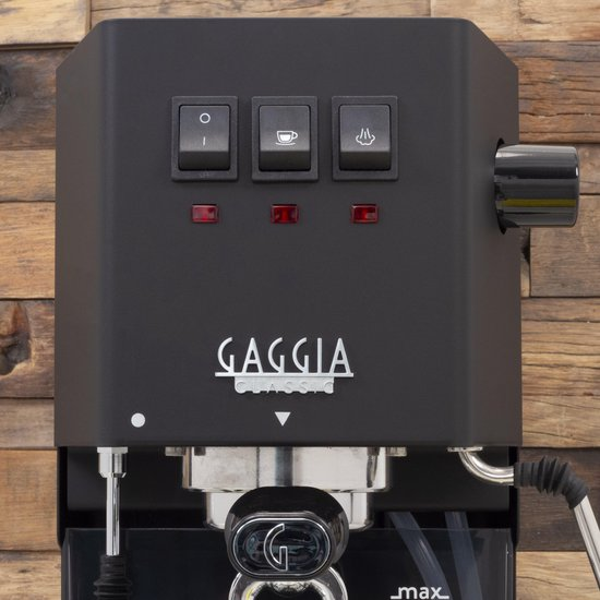 Gaggia Classic Pro Thunder Black