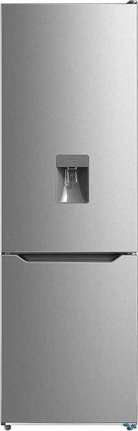 Koelkast: VALBERG By Electro Depot - CNF300FWDX625C - Koel-vries combinatie - Waterdispenser - No Frost - Inox - H: 188cm, van het merk VALBERG