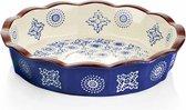 Lavandoux - Ovenschaal - Taartvorm - Ø22 cm - Bohemian Blue