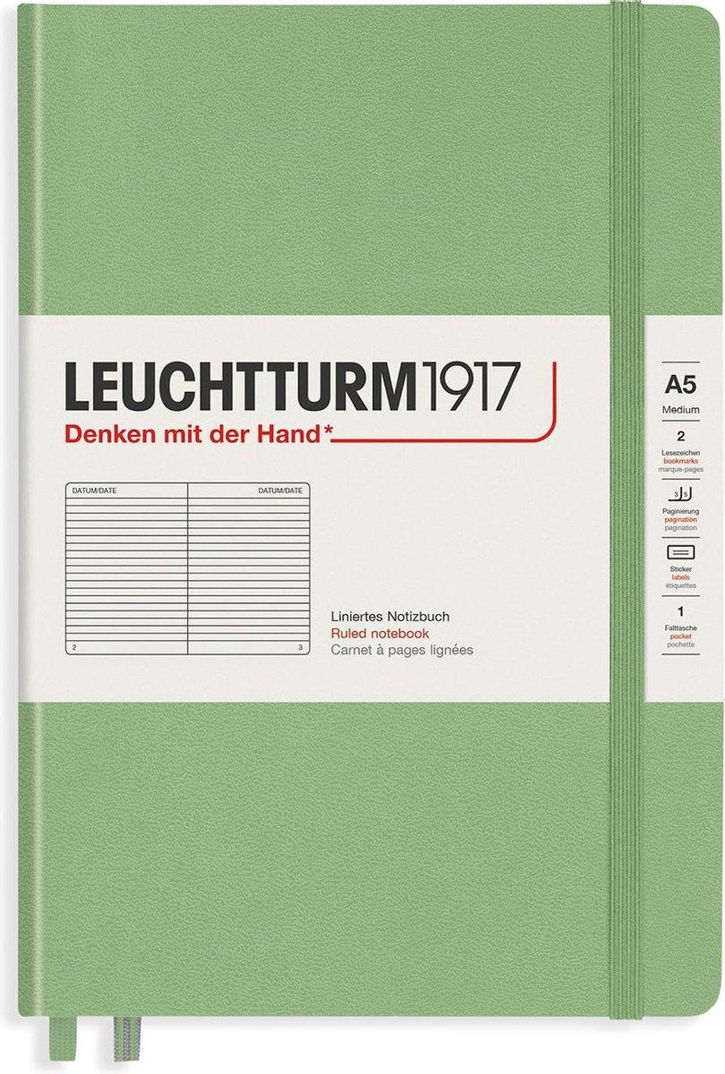 Leuchtturm1917 Composition B5 Notitieboek Sage - Gelinieerd