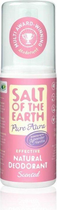 Salt of the Earth Natuurlijke Deodorant Pure Aura Spray 100 ml