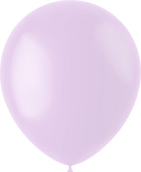 Lila Ballonnen Powder Lilac 33cm 10st