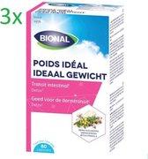 Bional Ideaal Gewicht3 x 80 Capsules promopack