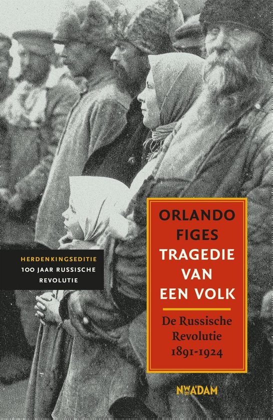 Boek cover Tragedie van een volk van Orlando Figes (Onbekend)