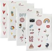 Bullet journal stickers - 91 contour stickers - stickers volwassenen - Bullet journal accesoires - scrapbook stickers -stickervellen - bullet journal producten - cadeau - Laptop stickers