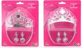 Princess Secret kroon en oorbellen op kaart