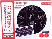 IQ puzzel - 16 stuks - Metaal - Breinbrekers