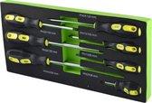 JBM Tools   Set van 7 kruiskop schroevendraaiers   Toevoeging gereedschapskar