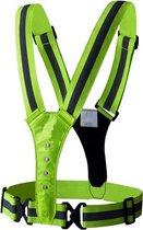 Hardloop Verlichting - Led Harnas - Led Vest -  Hardloop Led verlichting - Reflecterend  Hardloop vest - One Size - Hardlopen - Sport verlichting