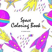 Space Coloring Book for Children (8.5x8.5 Coloring Book / Activity Book)