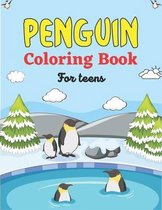 PENGUIN Coloring Book For Teens