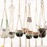 Handgemaakte Macrame Plant Hangers | Bloempot hangers | Wanddecoratie | Tuin interieur |Bohemian Deco