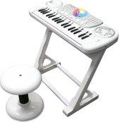 Speelgoed Keyboard - Imaginarium - Piano voor Kinderen - Met Discobal, Krukje en veel Effecten - Inclusief Headset met Microfoon