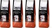 Bialetti Moka Hazelnut gemalen koffie - 4x 250 gram