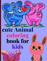 cute Animal coloring book for kids