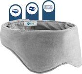 EAZ® Verzwaard Slaapmasker Incl. Bewaarhoes  en Koelfiller - Verwarmd Oogmasker - Relax - Migraine - Mannen Vrouwen - Cadeau