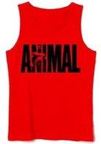 Animal Iconic Tank Top Maat M Geel